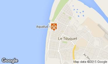 Mapa Le Touquet Estúdio 38630
