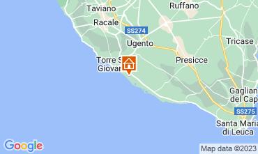 Mapa Ugento - Torre San Giovanni Apartamentos 108077