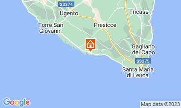 Mapa Pescoluse Casa 73207