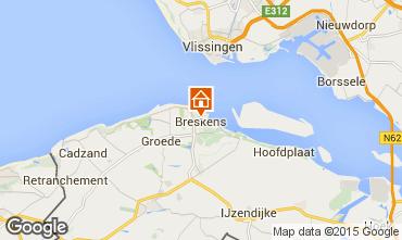 Mapa Breskens Apartamentos 47117