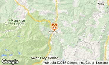 Mapa Saint Lary Soulan Casa 96426