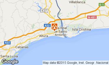 Mapa Monte Gordo Casa 72216