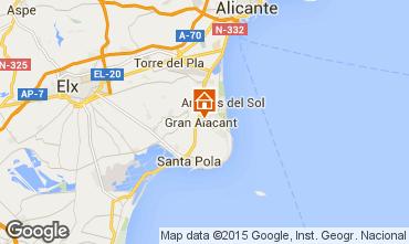 Mapa Alicante Vivenda 77982