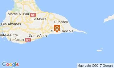Mapa Saint Francois Apartamentos 105675
