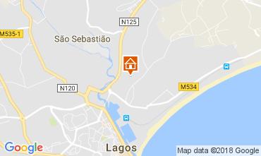Mapa Lagos Apartamentos 95155