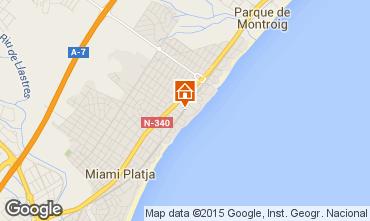 Mapa Miami Playa Apartamentos 54813