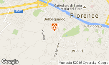 Mapa Floren�a Apartamentos 72161