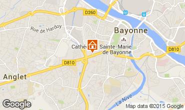 Mapa Bayonne Apartamentos 97229