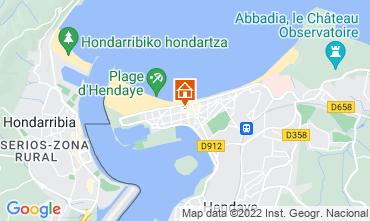 Mapa Hendaye Apartamentos 9350
