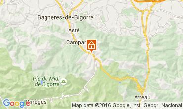 Mapa La Mongie Casa de turismo rural/Casa de campo 94972