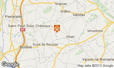 Mapa Visan Casa 31125