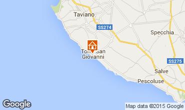 Mapa Ugento - Torre San Giovanni Apartamentos 93760