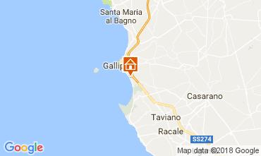 Mapa Gallipoli Apartamentos 112541