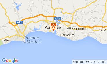 Mapa Praia da Rocha Apartamentos 65069