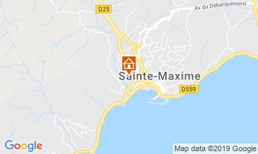 Mapa Sainte Maxime Estúdio 74150