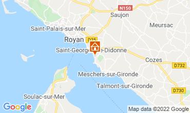 Mapa Royan Apartamentos 75392