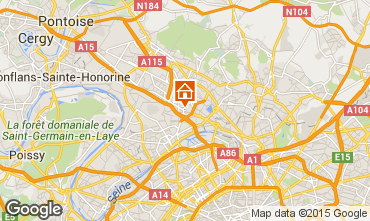 Mapa PARIS Casa de turismo rural/Casa de campo 91477