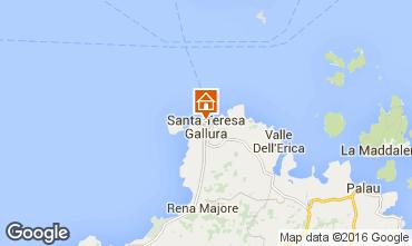 Mapa Santa Teresa di Gallura Apartamentos 74770