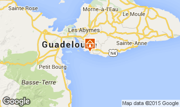 Mapa Gosier (Guadeloupe) Est�dio 101387