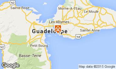 Mapa Gosier (Guadeloupe) Est�dio 74945