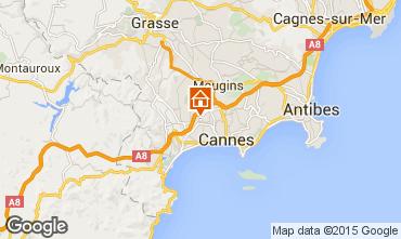 Mapa Le Cannet Apartamentos 60833