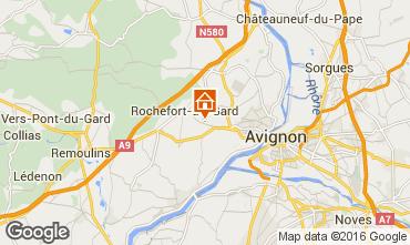 Mapa Villeneuve lez Avignon Vivenda 103227