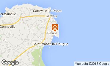 Mapa Saint Vaast la Hougue Casa de turismo rural/Casa de campo 70956
