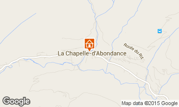 Mapa La Chapelle d'Abondance Apartamentos 91419