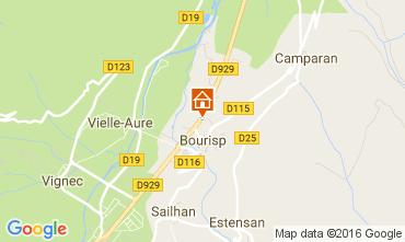 Mapa Saint Lary Soulan Vivenda 81833