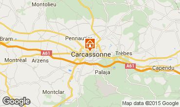 Mapa Carcassonne Apartamentos 96768