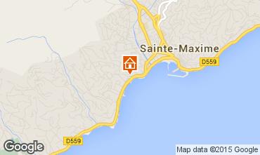 Mapa Sainte Maxime Estúdio 95787