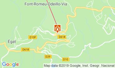 Mapa Font Romeu Apartamentos 69937