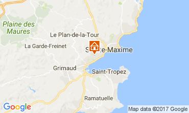 Mapa Saint Tropez Apartamentos 110369