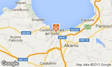Mapa Castellammare del Golfo Apartamentos 33477