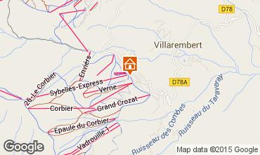 Mapa Le Corbier Apartamentos 49618