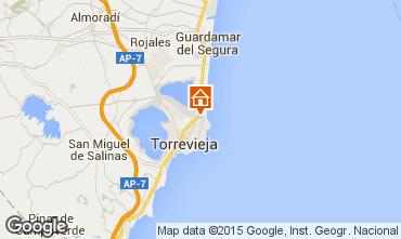 Mapa Torrevieja Apartamentos 75777