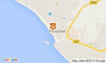 Mapa Pornichet Apartamentos 104572