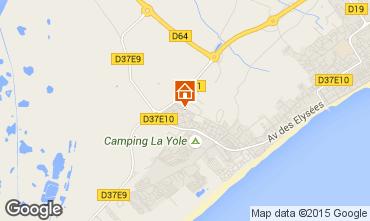Mapa Valras-Praia Vivenda 89478