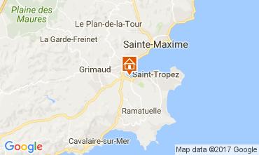 Mapa Saint Tropez Apartamentos 108088