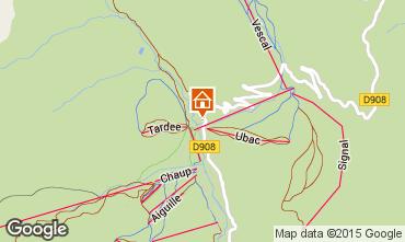 Mapa Val d'Allos Est�dio 3194