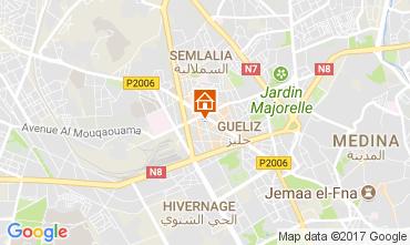Mapa Marraqueche Apartamentos 112241