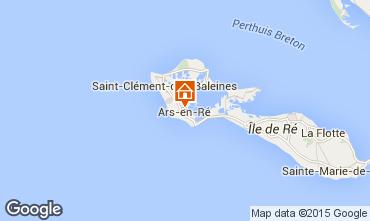 Mapa Ars en Ré Casa 6972