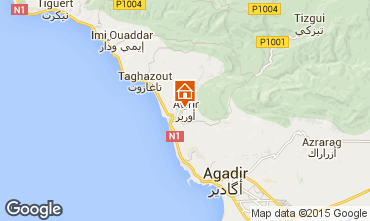 Mapa Taghazout Apartamentos 74732