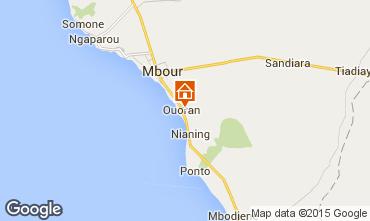 Mapa Mbour Vivenda 77706