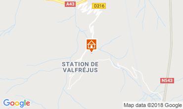 Mapa Valfréjus Apartamentos 74342