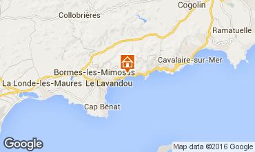 Mapa Le Lavandou Apartamentos 94286