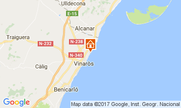 Mapa Vinaròs Vivenda 97392
