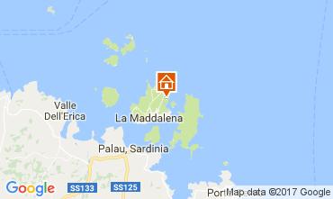 Mapa La Maddalena Vivenda 98901