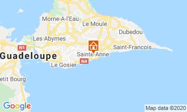 Mapa Sainte Anne (Guadalupe) Bungalow 70986