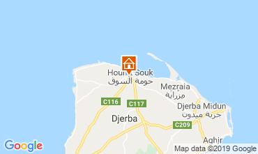 Mapa Djerba Apartamentos 53348